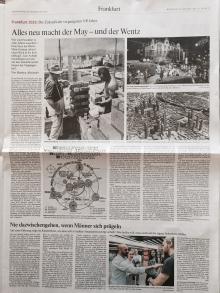 """Frankfurter Allgemeine Zeitung berichtet über den Kurs für mehr Zivilcourage """"Mutige Bürger FFM."""""""