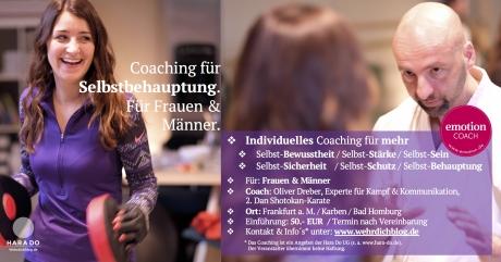 Selbstbehauptung-Coaching